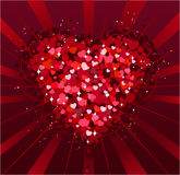 Fundo do dia de St.Valentine Foto de Stock Royalty Free