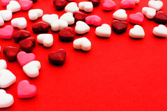 Fundo do dia de Valentim Fotos de Stock