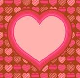 Fundo do dia de Valentim Imagem de Stock Royalty Free