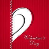 Fundo do dia de Valentim Imagens de Stock Royalty Free