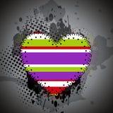 Fundo do dia de Valentim. Fotografia de Stock