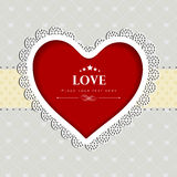Fundo do dia de Valentim. Foto de Stock Royalty Free