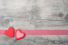 Fundo do dia de Valentim Foto de Stock Royalty Free