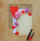 Fundo do dia de Valentim Foto de Stock