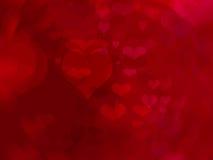 Fundo do dia de Valentim Fotografia de Stock