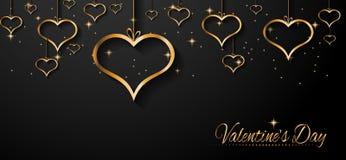 Fundo do dia de Valentim de San para convites do jantar Fotografia de Stock Royalty Free