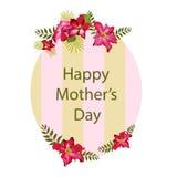 Fundo do dia do ` s da mãe Imagem de Stock Royalty Free