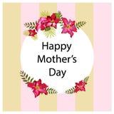 Fundo do dia do ` s da mãe Imagens de Stock