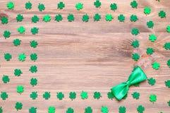 Fundo do dia do `s do St Patrick imagens de stock
