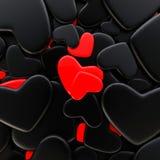 Fundo do dia do ` s do Valentim Imagens de Stock