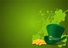 Fundo do dia do St. Patrick Foto de Stock Royalty Free