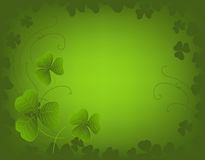 Fundo do dia do St. Patrick Foto de Stock