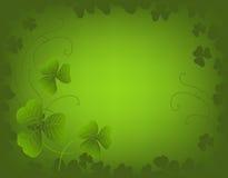 Fundo do dia do St. Patrick Foto de Stock