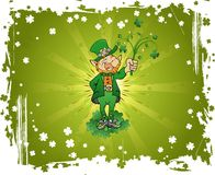 Fundo do dia do St. Patrick Fotografia de Stock Royalty Free