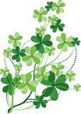 Fundo do dia do St. Patrick Foto de Stock Royalty Free