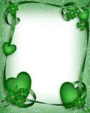 Fundo do dia do St Patrick Fotos de Stock