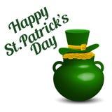 Fundo do dia do St Patrick Imagem de Stock