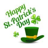 Fundo do dia do St Patrick Foto de Stock