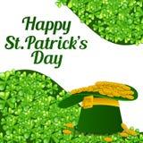 Fundo do dia do St Patrick Fotografia de Stock