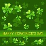 Fundo do dia do St Patrick Foto de Stock Royalty Free