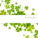 Fundo do dia do St. Patricks Fotografia de Stock