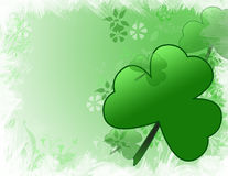 Fundo do dia do St Patricks Fotografia de Stock