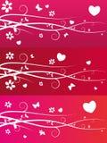 Fundo do dia do Valentim Ilustração Stock