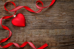Fundo do dia do Valentim com corações Foto de Stock Royalty Free