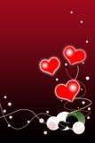 Fundo do dia dos Valentim imagens de stock royalty free