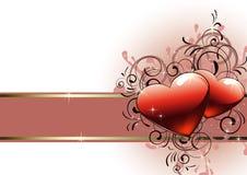 Fundo do dia dos Valentim Foto de Stock Royalty Free