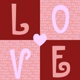 Fundo do dia dos Valentim ilustração do vetor