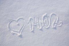 Fundo do dia dos Valentim com coração Foto de Stock