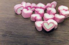 Fundo do dia dos Valentim com corações Imagens de Stock