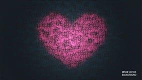 Fundo do dia do ` s do Valentim Imagens de Stock Royalty Free