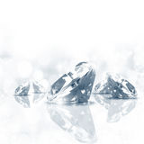 Fundo do diamante Fotos de Stock