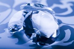 Fundo do diamante Fotografia de Stock Royalty Free