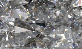 Fundo do diamante Imagens de Stock
