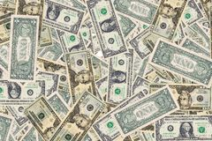 Fundo do dinheiro fotos de stock
