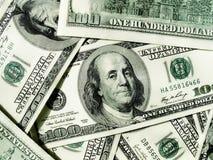 Fundo do dinheiro do close-up Foto de Stock Royalty Free