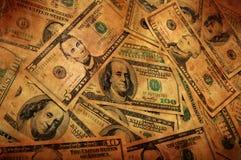 Fundo do dinheiro de Grunge Imagem de Stock Royalty Free