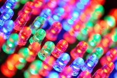 Fundo do diodo emissor de luz Foto de Stock Royalty Free
