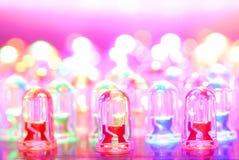 Fundo do diodo emissor de luz Imagem de Stock