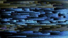 fundo do diodo emissor de luz do pulso aleatório do sumário 4K vídeos de arquivo