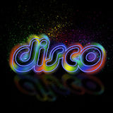 Fundo do disco Fotografia de Stock Royalty Free