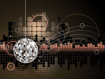 Fundo do disco Foto de Stock Royalty Free