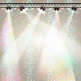 Fundo do disco Cartaz do disco Fotografia de Stock Royalty Free