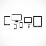 Fundo do dispositivo Imagens de Stock