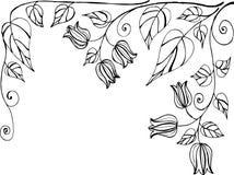 Fundo do doodle do vintage Imagem de Stock Royalty Free