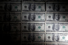 Fundo do dólar Foto de Stock Royalty Free
