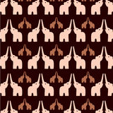 Fundo do elefante Foto de Stock Royalty Free
